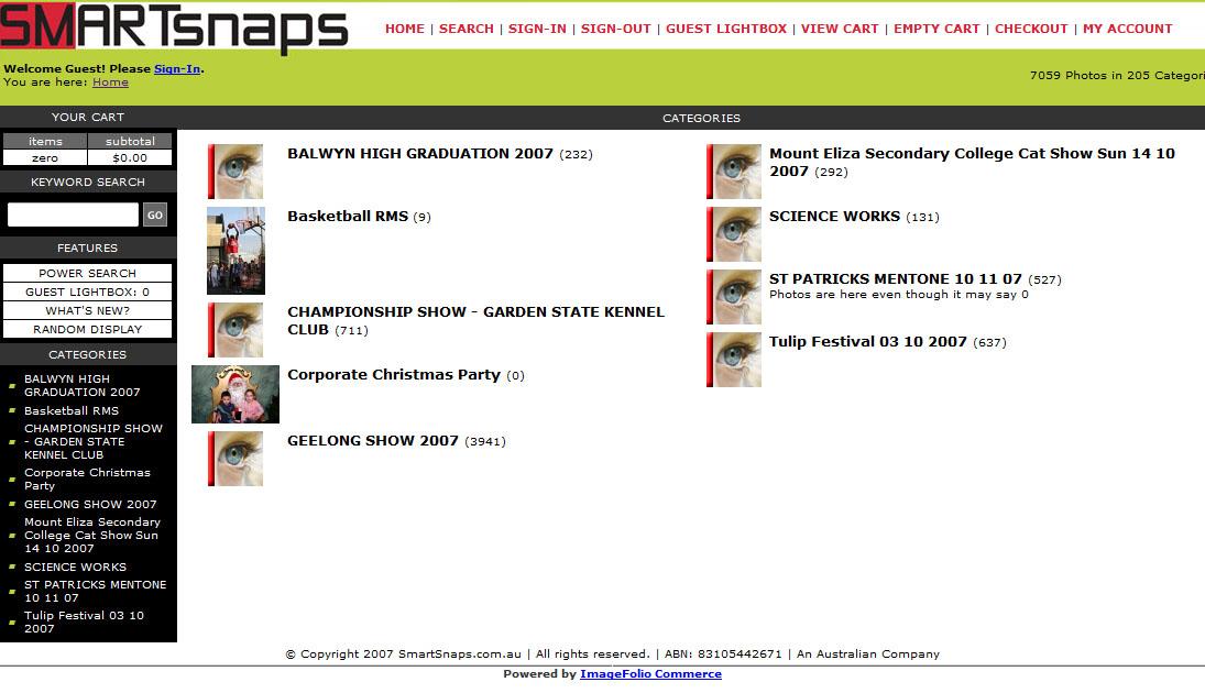 smartsnaps.com